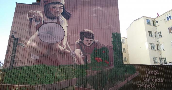 grafiti Huerteco San Pedro de la Fuente