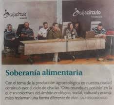 Soberanía alimentaria en Burgos